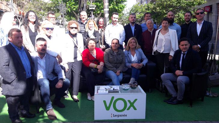 VOX presenta su candidatura en Leganés anunciando medidas para los ...